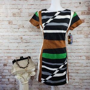 Derek Lam Design Nation 6 Geometric Sheath Dress